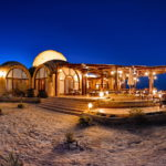 Marsa Shagra in Blue Hour, Eco-Lodge Shagra Village